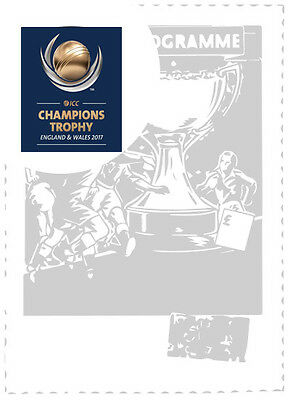 2017 Icc Champions Trophy- Sophia Gardens Group Games Programme