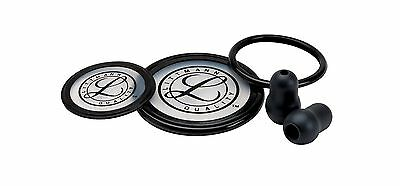 3M Littmann 40003 Cardiology III Stethoscope Spare Parts Kit, Black, New