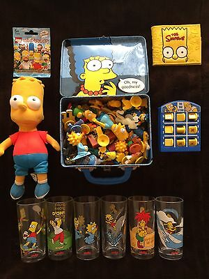 The Simpsons Pack: Drink Glasses + Figurines + Wallet + Backpack + Toys + More