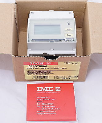 IME CE4DT06A4 3ph 63A Network Direct Connect Multi Function Power Meter