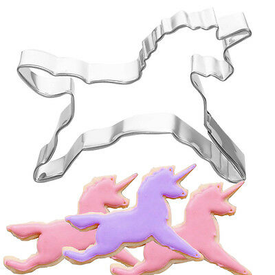 Horse Unicorn Cookies Cutter Mold Cake Biscuit Pastry Baking DIY Tool Decor Mold