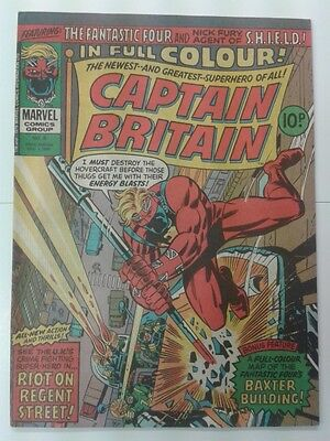 Captain Britain #8 1976 HIGH GRADE 1st APP PSYLOCKE Betsy Braddock Marvel NM