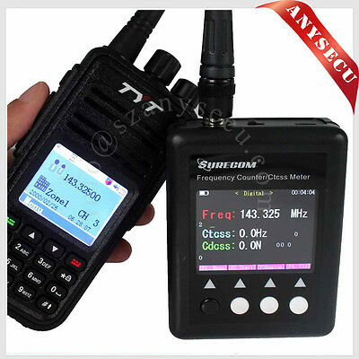 SF401-PLUS Portable Frequency Counter with CTCCSS/DCS Decoder + UHF Antenna