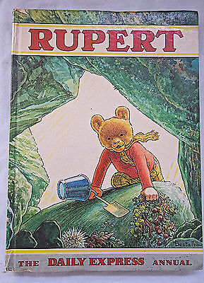 Rare Vintage Rupert Annual 1971 Unclipped. Excellent Condition