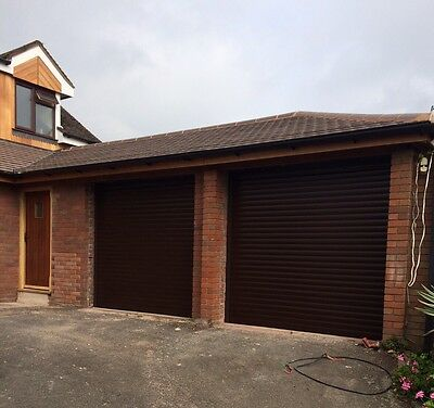 Insulated Electric Roller Garage Door Fitted Autoroll Composite