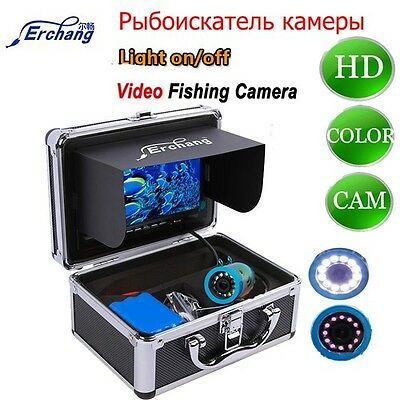 Underwater Monitor Camera Finder LED Light Controllable Video Camera For Fishing