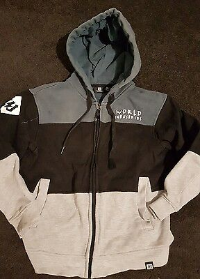 world industries boys hoodie sz 9