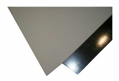 Vinyl Faced Silver Foil Backed Wipeable Ceiling Tiles 600mm X 600mm (10/Box) New