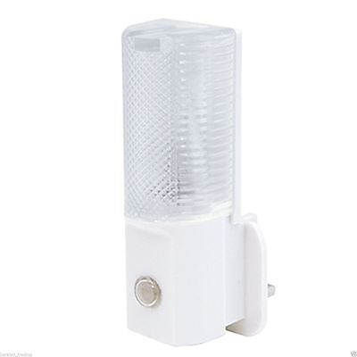 Led Plug In Automatic Baby Safety Night Light Low Energy Security