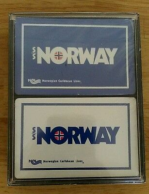 Playing Cards From SS Norway Norwegian Caribbean Lines
