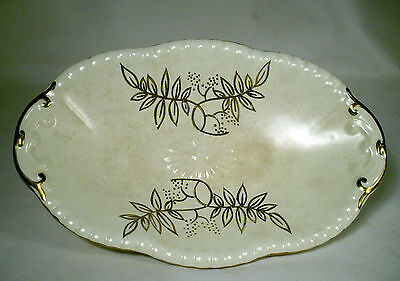 Vintage Crown Devon Gold Guilded Bowl