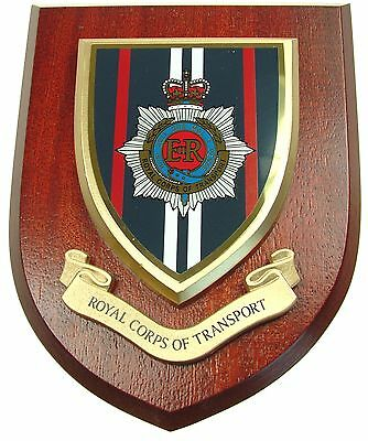 Rct Royal Corps Of Transport Classic Hand Made In The Uk Regiment Mess Plaque