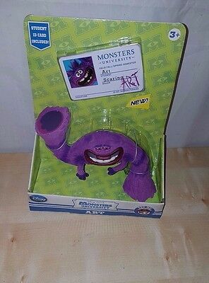 "Disney Monsters Inc University ""art"" 6"" Action Figure With Moves  -  New"