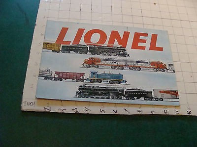 original 1953 LINEL TRAIN CATALOG, very nice 40pgs, cool, i show many pictures