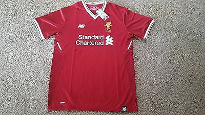 125 Years Liverpool 17/18 Men's Elite Jersey Home Brand New With Tags  Size XL