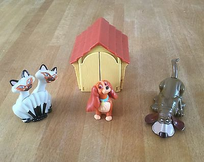 McDonalds Vintage Happy Meal Toys - Disney - Lady and the Tramp