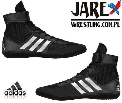 ADIDAS WRESTLING COMBAT Speed 5 Black Boots Shoes Adults Mens Pro ... 1db6ffbc1