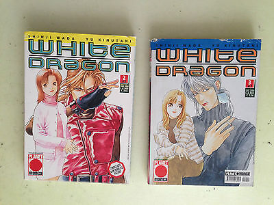 lotto 2 manga white dragon N° 2 - 3  planet manga