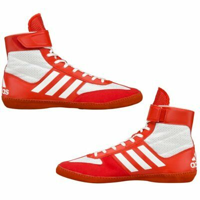 adidas Combat Speed 5 Wrestling Boxing Shoes Boots Red/White