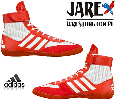 adidas Combat Speed 5 Ringershuhe Wrestling Shoes Boxen Schuhe Rot Red
