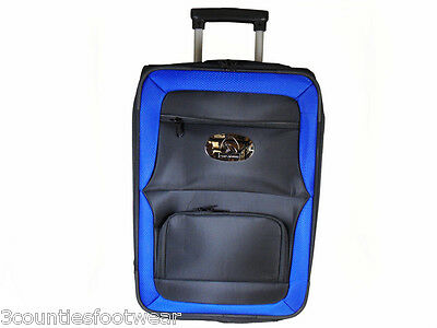 Prohawk Argyle Trolley Lawn Bowling Bag Blue  free 24 hour  P&P