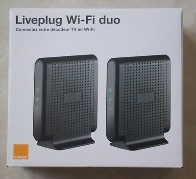 Liveplug Wifi Duo - Neuf - Complet