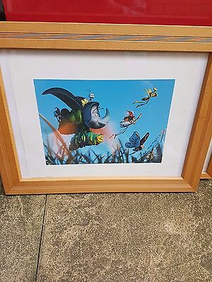 Bugs Life Lithograph exclusive 1999
