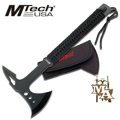 MTech USA 15'' Hand Axe Hatchet, Stainless Steel, Camping Hiking Prepper Scout