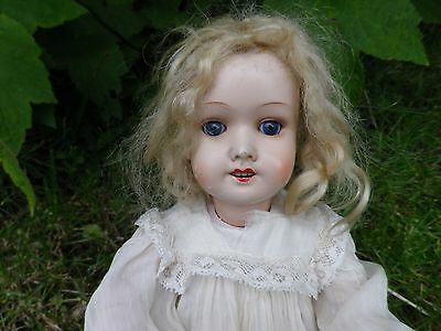 Antique Bisque head W S Doll made in Germany 1900's