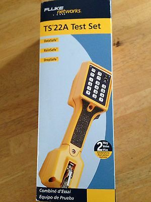 Fluke Networks  Telephone Test Set New In Box. TS 22A