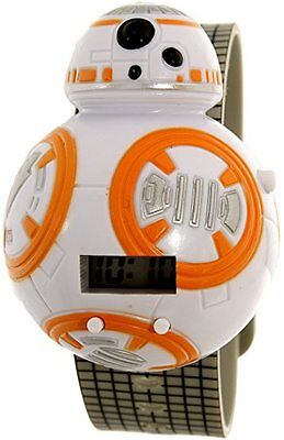 NEW Star Wars Molded LCD DIGITAL Watch With STAR WARS Sound Effects Button! NIB