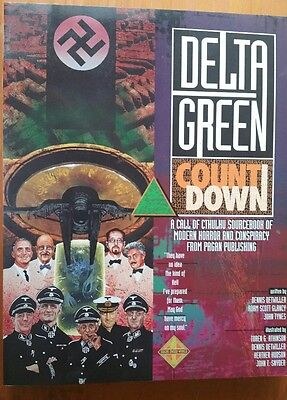 Delta Green countdown Call of cthulhu CoC horror RPG roleplay pagan publishing