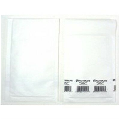 Masterline Bubble Lined Mailing Bags Padded Envelopes Mailers Size B00 White