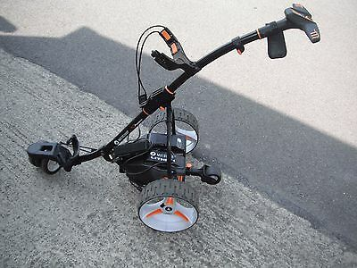 Motocaddy S7 Remote Electric Golf Trolley + Lithium Battery - Great Condition