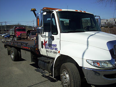 tow truck flatbed wrecker