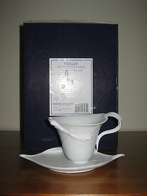 Franz Porcelain Dragonfly Cabinet Cup and Saucer - FZ00226