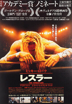 The Wrestler 2008 Darren Aronofsky Japanese Chirashi Mini Movie Poster B5