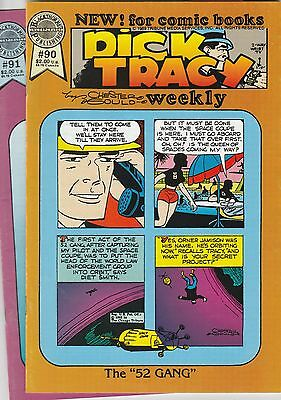 Blackthorne Comics 1989 Dick Tracy Weekly 90 91 92 93 94 95 96 97 98 99 Gould