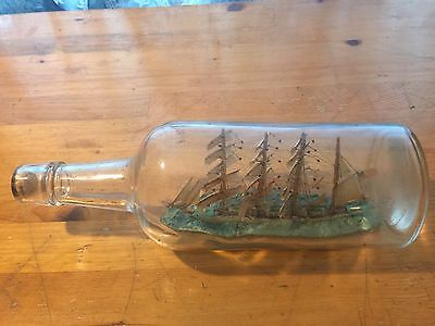 Sailboat In A Bottle Antique