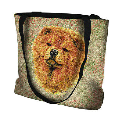 * Chow Chow Handbag - Textured Detailed Picture of Original Oil Painting