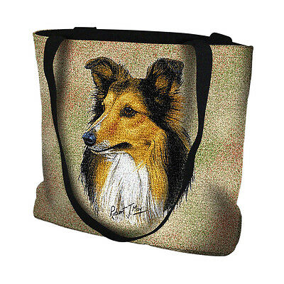 * Shetland Sheepdog Handbag  Detailed Picture of an Original Oil Painting