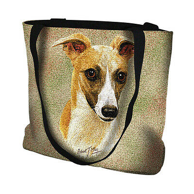* Whippet Handbag - Textured Detailed Picture of an Original Oil Painting
