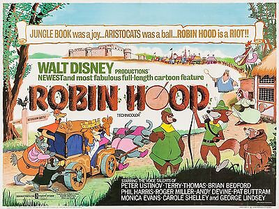 """Robin Hood 16"""" x 12"""" Reproduction Movie Poster Photograph 2"""