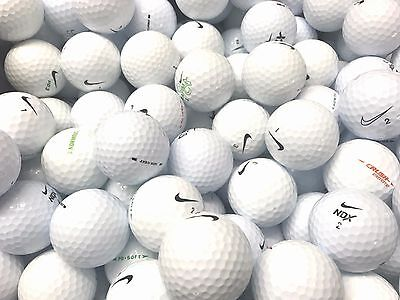 50 Pearl/a Grade Condition Mixed Nike Golf Balls