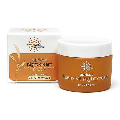 Earth Science Apricot Night Cream 47g