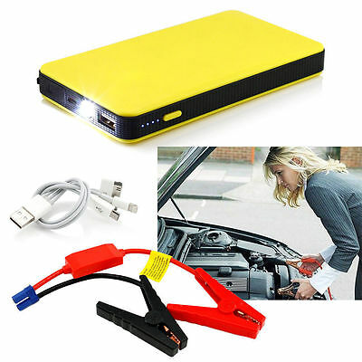 12V 20000mAh Multi-Function Car Jump Starter Battery Charger Power Bank Booster