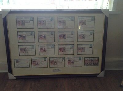 Sunderland football signed first day covers