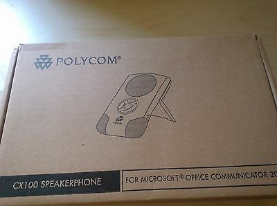 NEW Polycom CX100 Speakerphone 2200-44240-001