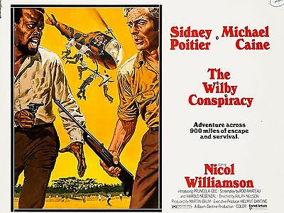 """The Wilby Conspiracy 16"""" x 12"""" Reproduction Movie Poster Photograph"""