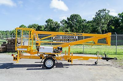 Nifty TM34M 40 Ft Towable Boom Lift,Dual Power,Dealer Reconditioned, See Ad